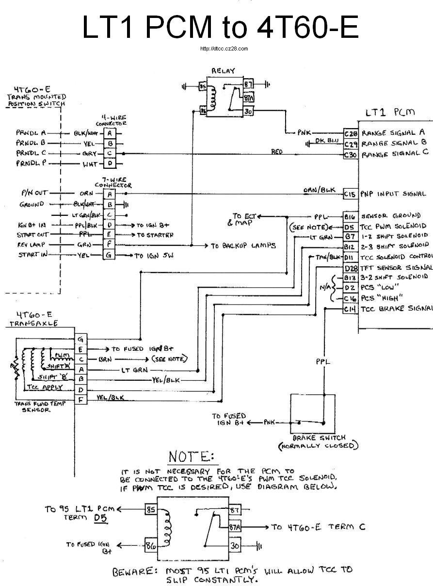 LT1 4T60E lt1 build page 4 lt1 wiring harness diagram at bayanpartner.co